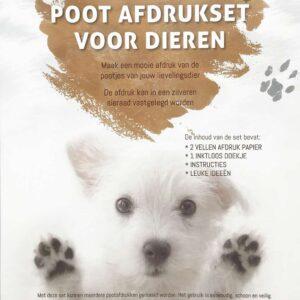 hondenpoot afdruk