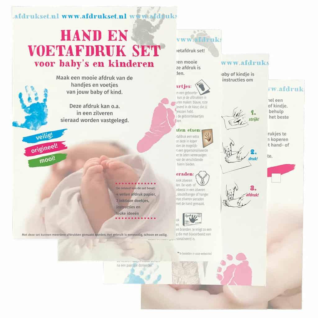 Handafdruk Baby Maken Gebruik Hiervoor Deze Speciale Handafdruk Set