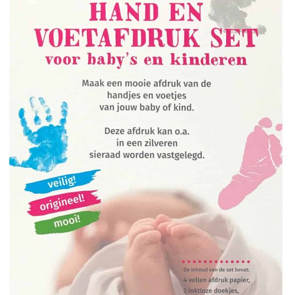 baby voetafdruk