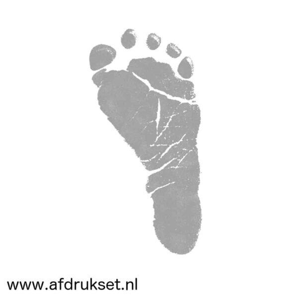 voetafdruk baby