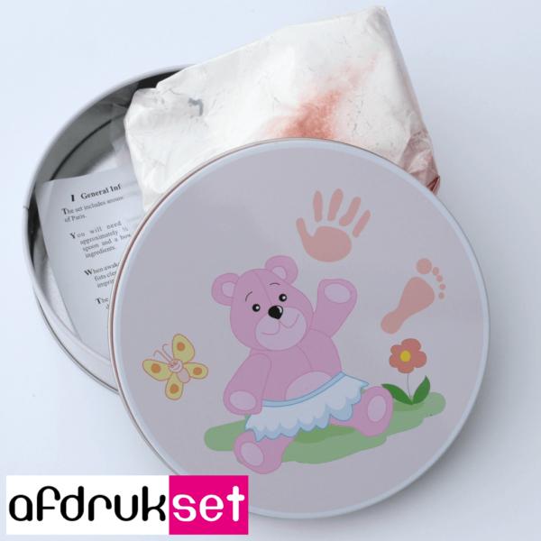 eerste baby handafdruk