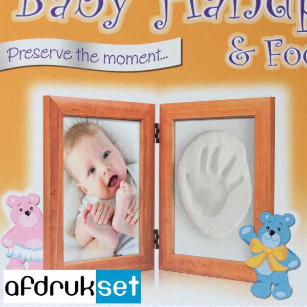 baby handafdruk fotolijst