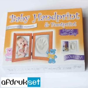 baby voetafdruk fotolijst